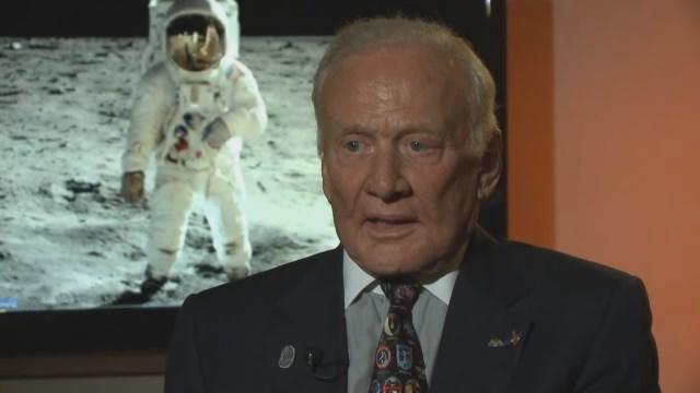 Interview: Astronaut Buzz Aldrin On Apollo 11 Anniversary, USS Hornet Visit, Mission To Mars