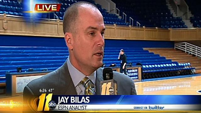 Jay Bilas talks Duke/UNC rivalry