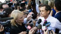 Weiner Hangs on After Scandal