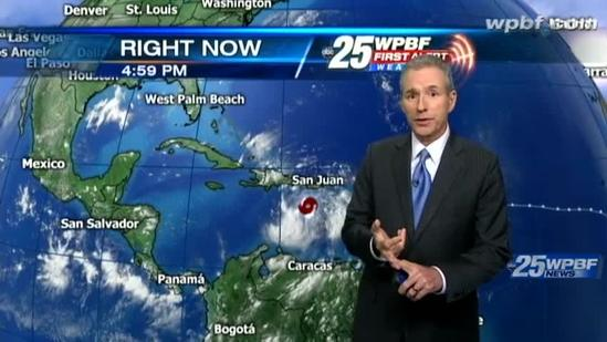 Isaac's projected path takes on significant changes