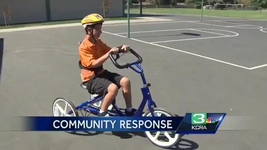 Donations pour in for special-ed class that had bikes stolen