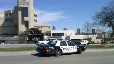 Person Shot Inside Hospital