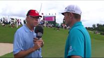 Justin Rose talks about his first round in Bermuda