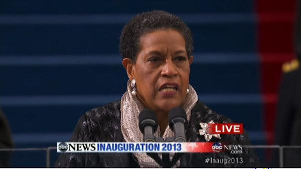 Inauguration Day 2013: Myrlie Evers-Williams delivers invocation