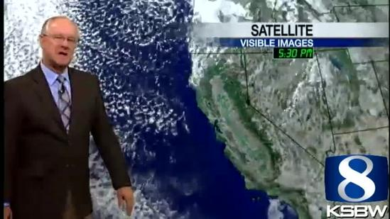Watch your Tuesday night KSBW weather forecast 05.21.13