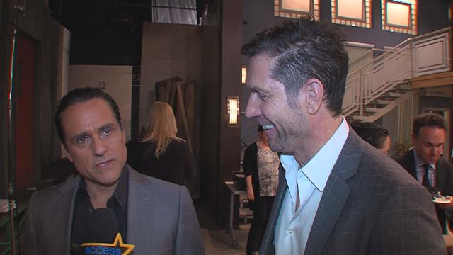 'General Hospital's' Maurice Benard And Frank Valentini Help Celebrate 13,000 Episodes