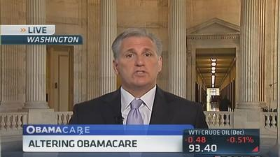 Will continue to fight to fix Obamacare: Rep. McCarthy