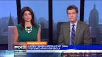 Man Isolated At New York City Hospital Tests Negative For Ebola Virus