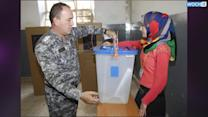 Iraqi Forces Cast Ballots Ahead Of Parliamentary Elections
