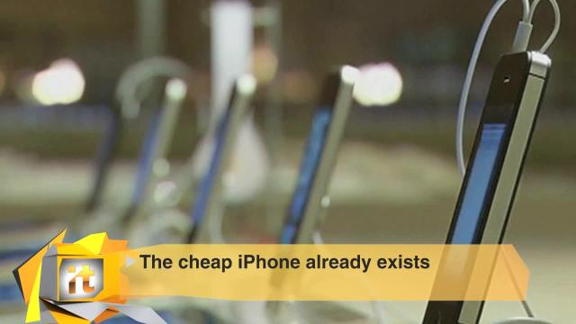 Top Tech Stories of the Day: The Cheap IPhone Already Exists