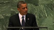 Obama talks Mideast violence at U.N. General Assembly