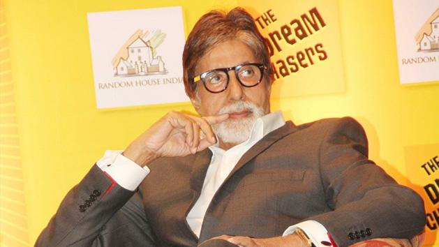 Big B Launches The Dream Chasers Book