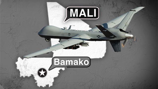 Report: US offers drones to aid West Africa terror fight