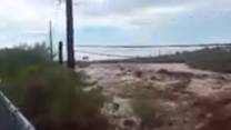 Heavy Rain Causes Flooding in New River