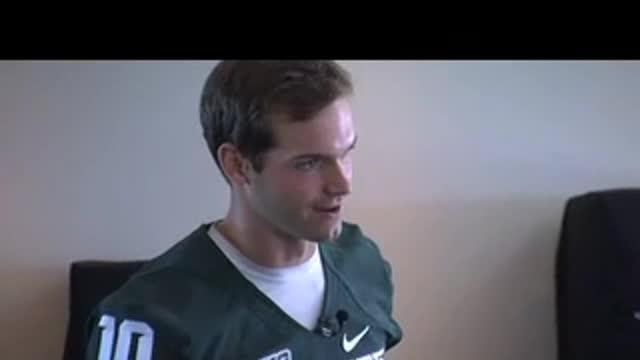 Andrew Maxwell gives Spartans confidence