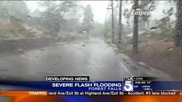 1 Dead, Thousands Stranded After Thunderstorms, Flash Floods and Mudslides Hit SoCal