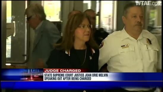 Pennsylvania Supreme Court Justice Joan Orie Melvin hit with criminal charges