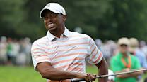 Will elbow doom Tiger Woods at British?