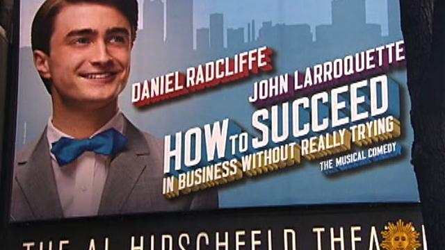 Daniel Radcliffe tries to succeed on Broadway