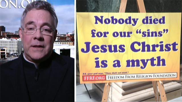Priest reacts to 'Jesus is a myth'