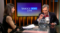 Bill Nye the Science Guy demos how bubbles can help save the world