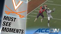 UVA's Matt Johns Connects With Andre Levrone for Great TD | ACC Must See Moment