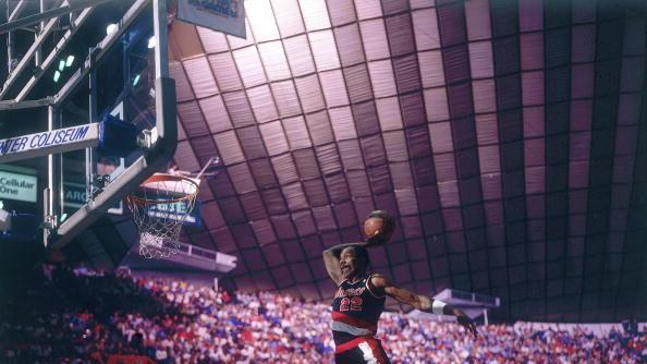 RADIO: Clyde Drexler's looking forward to this year's Dunk Contest