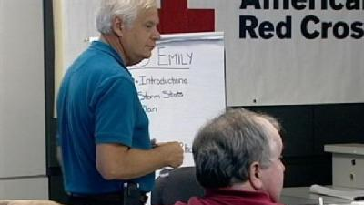 Red Cross Prepares For Any Storm That May Come