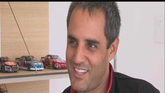 Montoya in it to win it for Indianapolis 500