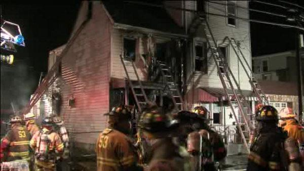 Elderly man hospitalized after Bristol Borough fire