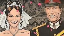 """Kate & William"" - The comic book"