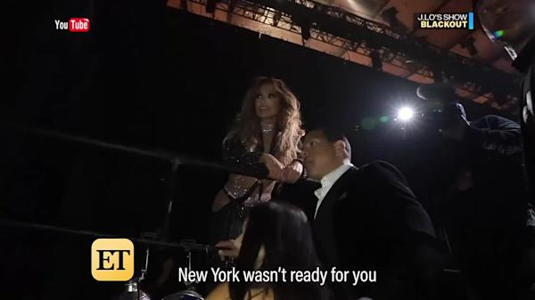 Jennifer Lopez Forced to End New York City Concert Early Due to