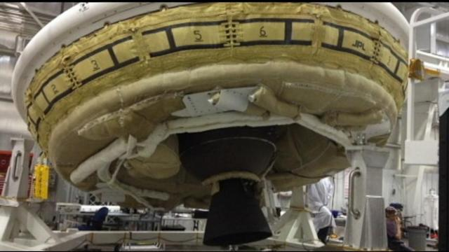 NASA Tests Flying Saucer