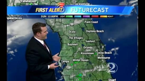 Mother's Day Outlook: Warm with Afternoon Storms