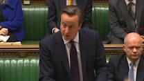 """Turning """"blind eye when nations are trampled"""" causes long term problems - Cameron"""