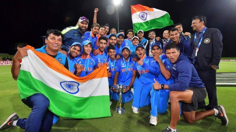 Indian U-19 boys emerged as the winners of U-19 World Cup in 2018