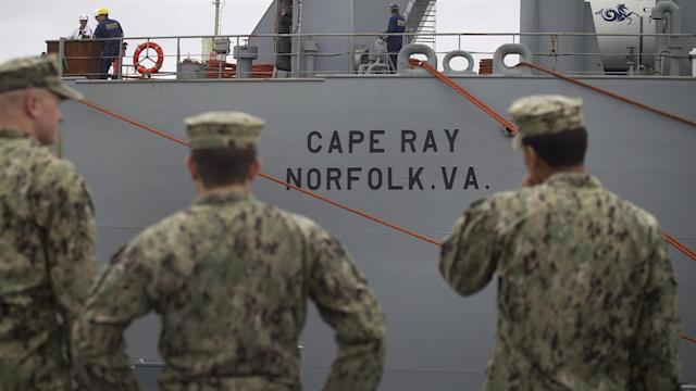 U.S. Ship Outfitted to Destroy Syria's Chemical Weapons