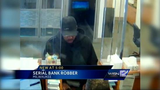 MPD searches for serial bank robber