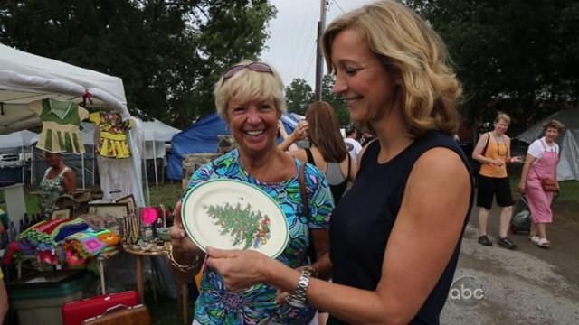 Shopping Yard Sales With Lara Spencer's Mom