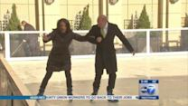 Peninsula hotel opens ice rink for Lights Festival