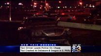 Taxi Driver Leads Police On Chase In South Philadelphia