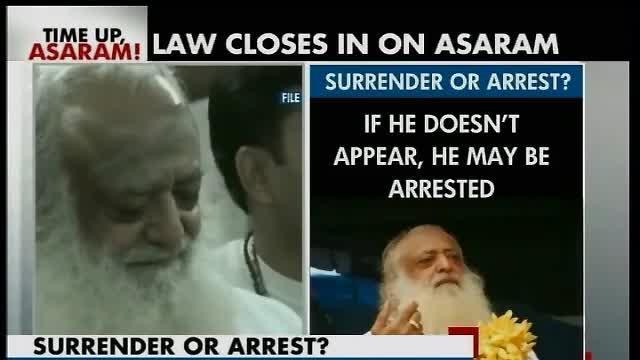 Cops say Asaram Bapu will be arrested if he does not surrender