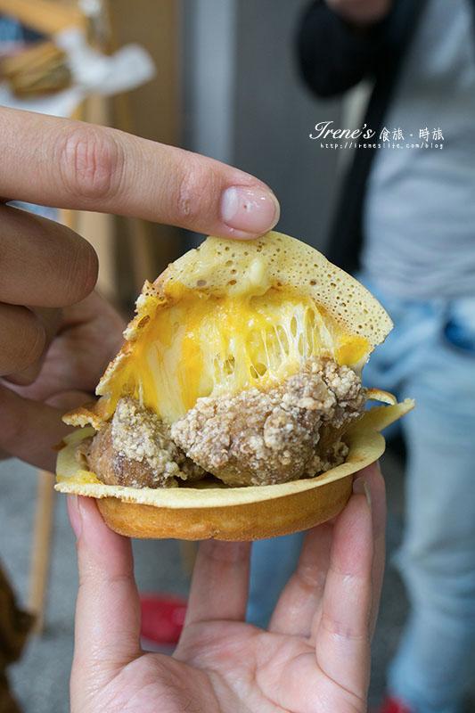 鹽酥雞車輪餅