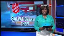 Salvation Army Theft