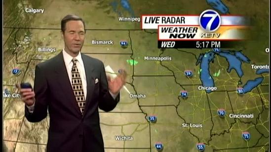 Bill's 5pm weather forecast