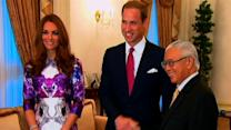 William and Kate shine in Singapore