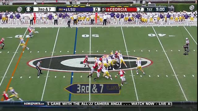 Mettenberger TD pass to Boone