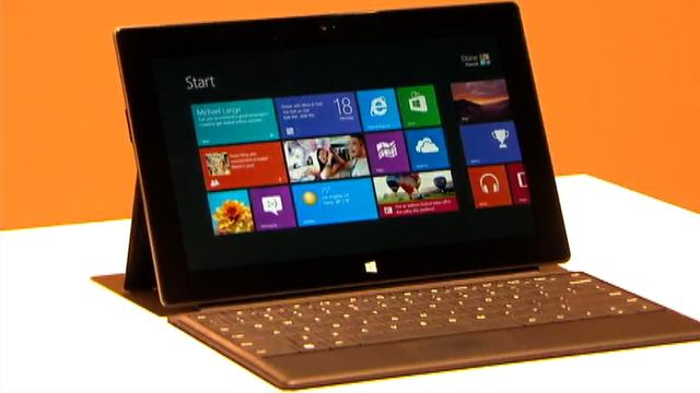Microsoft Surface unveiled: The first Microsoft-branded Windows tablet