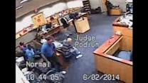 Punches thrown in hallway of Florida court