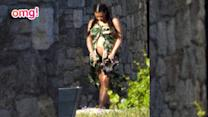 The Kardashian's holiday in Greece